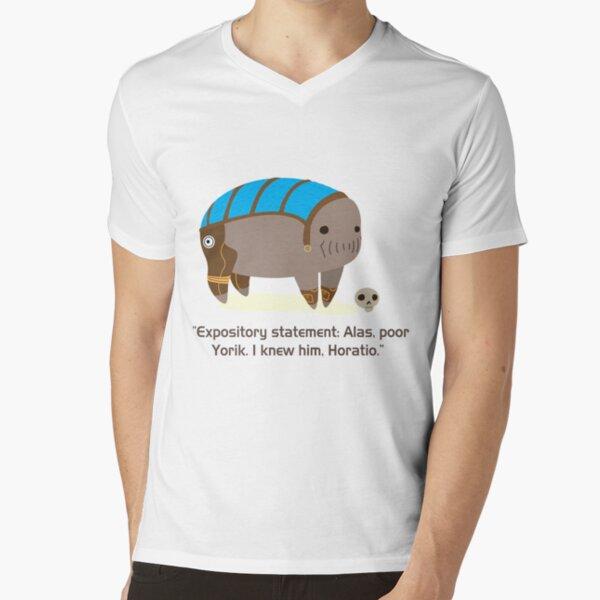 Elcor Hamlet  V-Neck T-Shirt