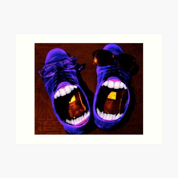 Blue Suede Shoes Art Print