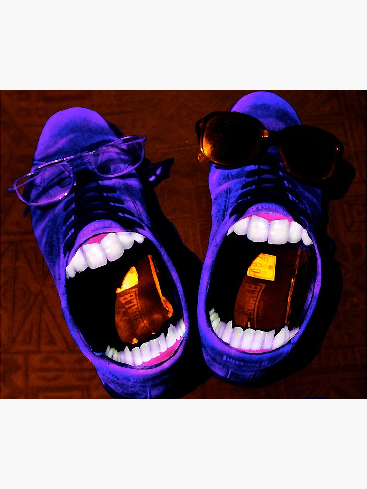 Blue Suede Shoes by Briandamage