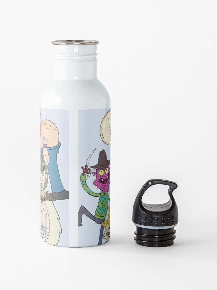 Alternate view of A Rick and Morty Collage Water Bottle