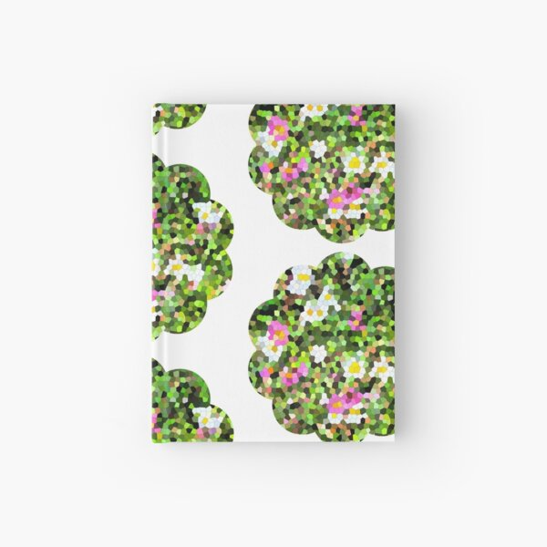 Fleur vitrail #1 Carnet cartonné