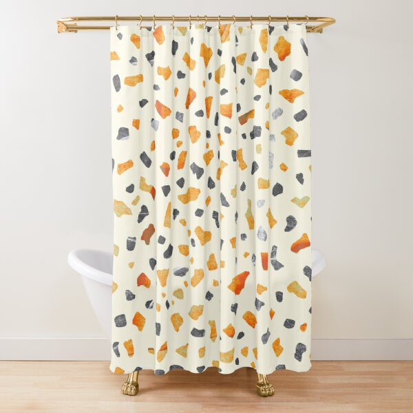 Terrazzo Sun Light Shower Curtain