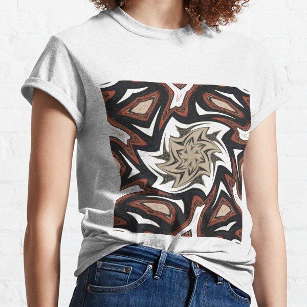 #Art, #pattern, #decoration, #design, illustration, graffiti, abstract, scribble, painting, tile Classic T-Shirt