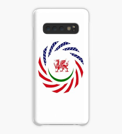 Welsh American Multinational Patriot Flag Series Case/Skin for Samsung Galaxy