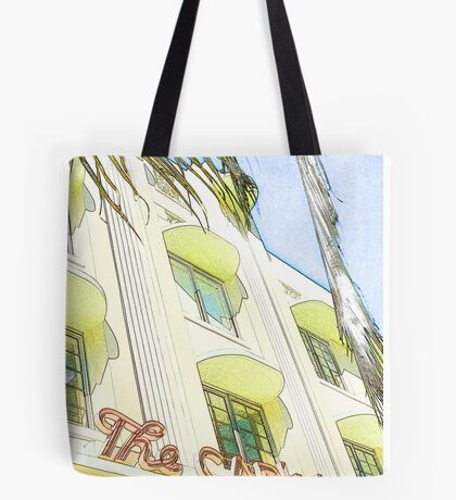 the carlyle hotel, south beach, florida Tote Bag