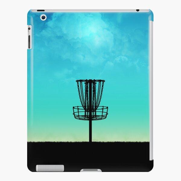 Disc Golf Basket Silhouette iPad Snap Case