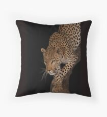 Leopard 1 Throw Pillow