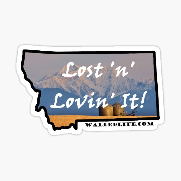 Montana Granaries Sticker