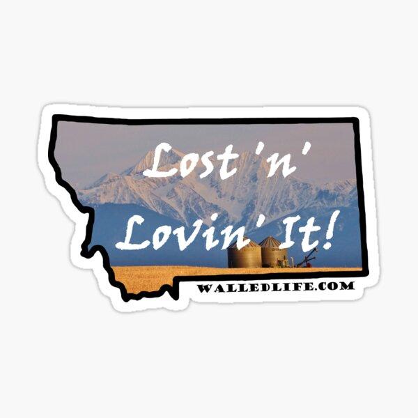 Montana Granaries Sticker