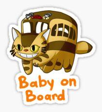 Catbus- Baby on Board Sticker