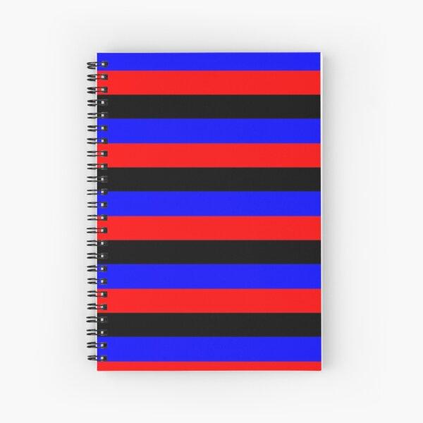 Poly Stripes Spiral Notebook
