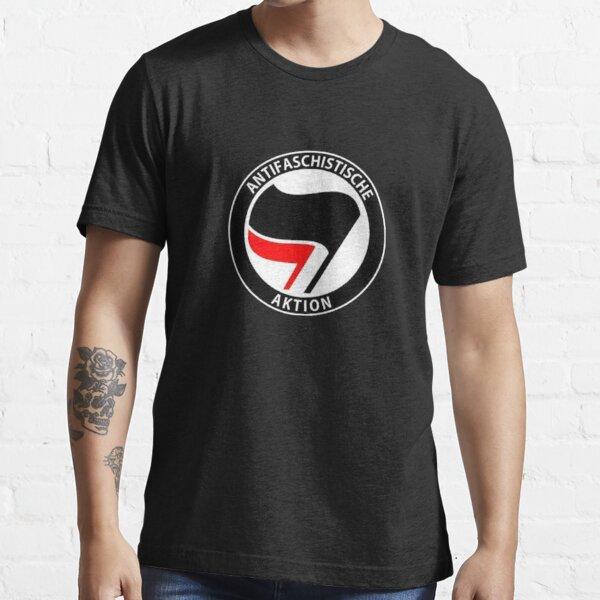Antifa Anti-Facism Plitical Tee Shirt Essential T-Shirt