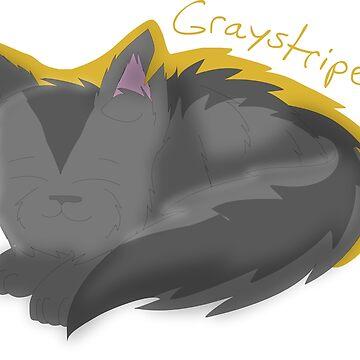 Warrior Cats: Graystripe by SamoyedOfValor