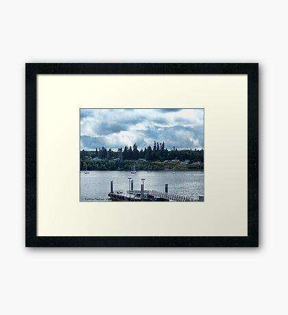 Leaving Kingston in the Dim Daylight Framed Print