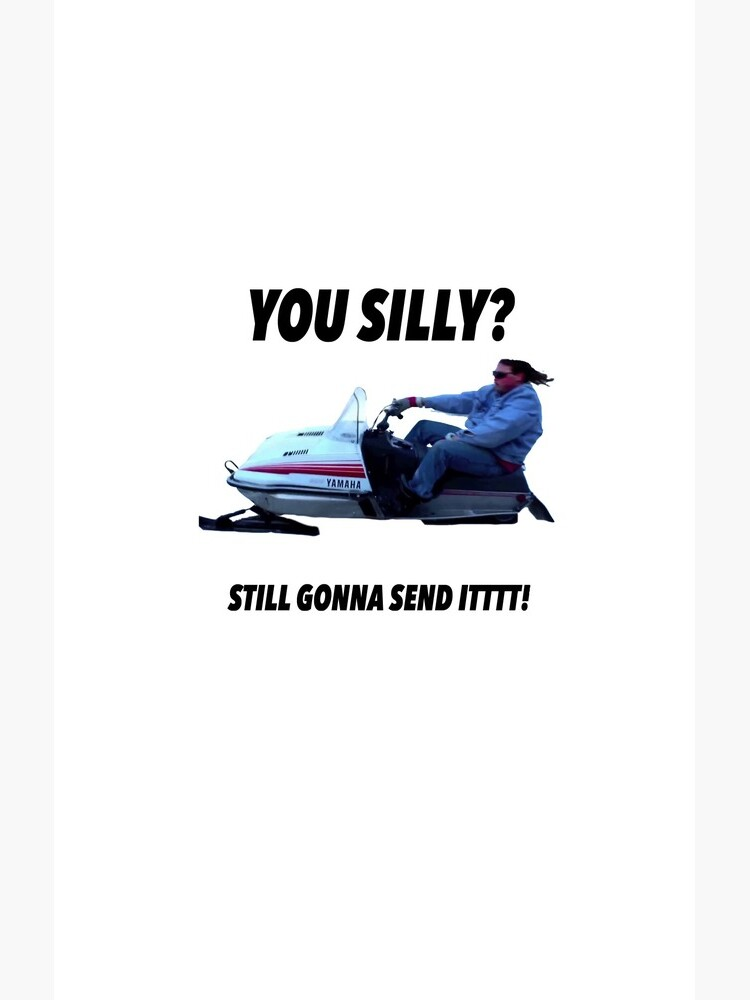 You silly still gonna send it funny meme shirt by CreatedTees