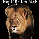 Lion is the New Black by EyeMagined