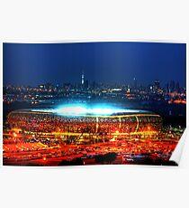 V I E W   B I G !!! SoccerCity / FNB Stadium @Night Poster