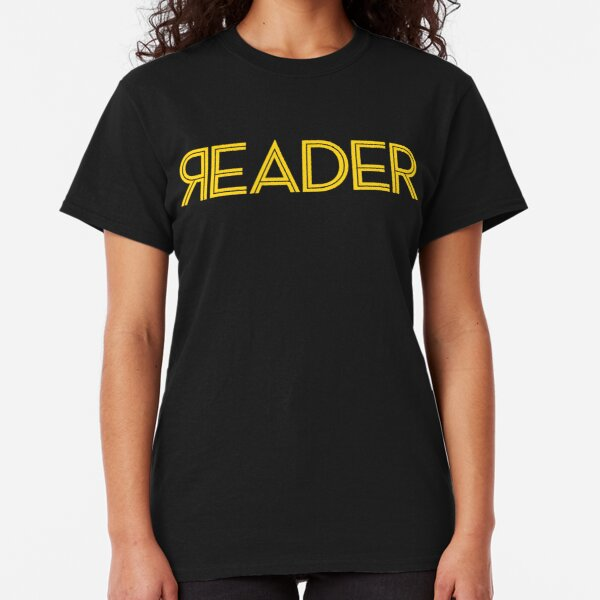 Reader Full, Yellow Classic T-Shirt