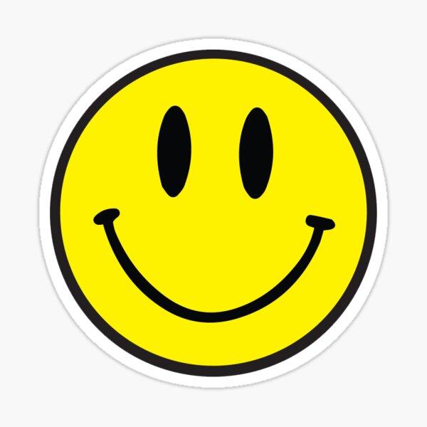 Acid House Smilie Rave Techno Ibiza Pegatina