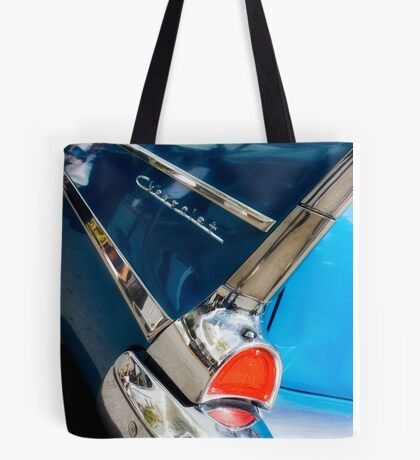 chevy fins Tote Bag