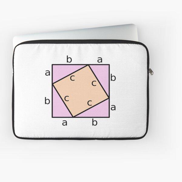 #Pythagoras #Theorem #PythagorasTheorem Laptop Sleeve