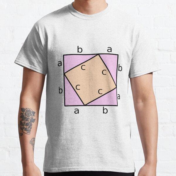 #Pythagoras #Theorem #PythagorasTheorem Classic T-Shirt