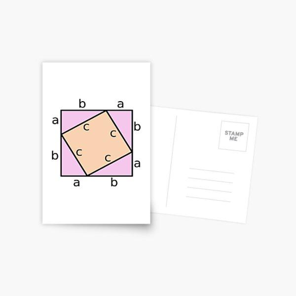 #Pythagoras #Theorem #PythagorasTheorem Postcard