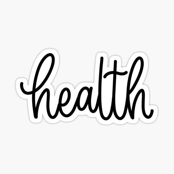 Health - Folder/Binder  Sticker
