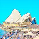 Sydney Opera House & Cafe by EWNY
