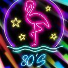Retro Neon von Eva Nev