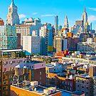 Manhattan Cityscape, New York by EWNY