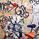Graffiti + Bikes, New York by EWNY