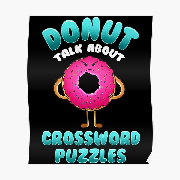 Crosswords Posters Redbubble