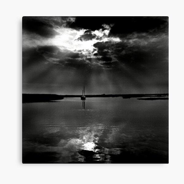 Summer evening light at Brancaster Staithe, Norfolk, UK Canvas Print