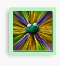 fredo the frog Canvas Print