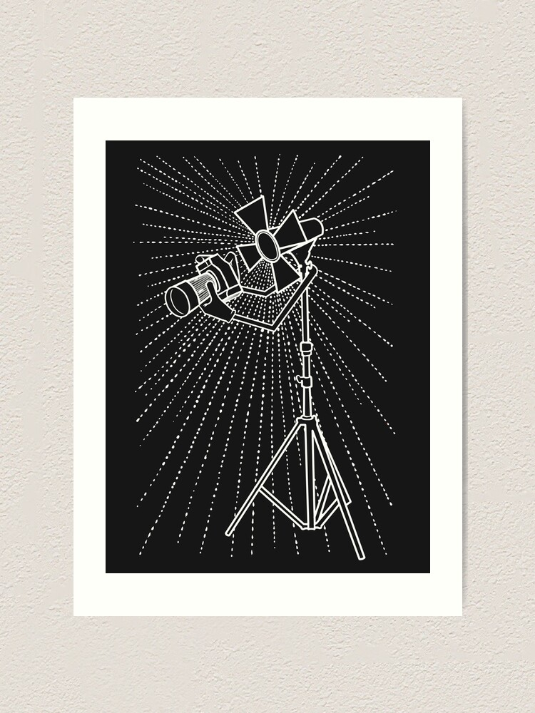 Alternate view of Lighting photograph  Art Print