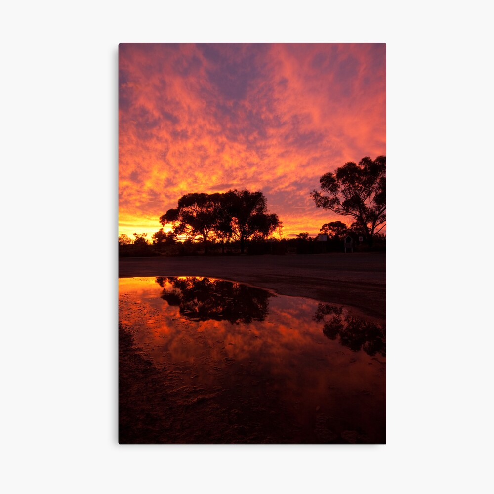 Mungo Sunset Canvas Print