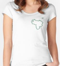 "Venezuela ""Citizen of the Earth"" small Women's Fitted Scoop T-Shirt"