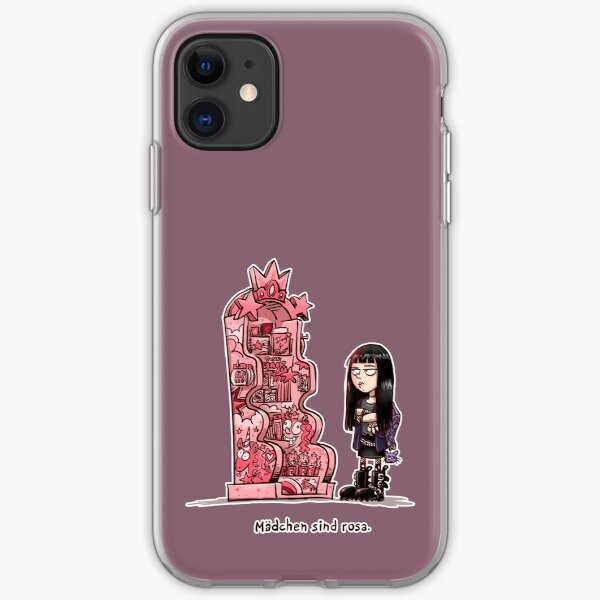 Mädchen sind rosa iPhone Flexible Hülle