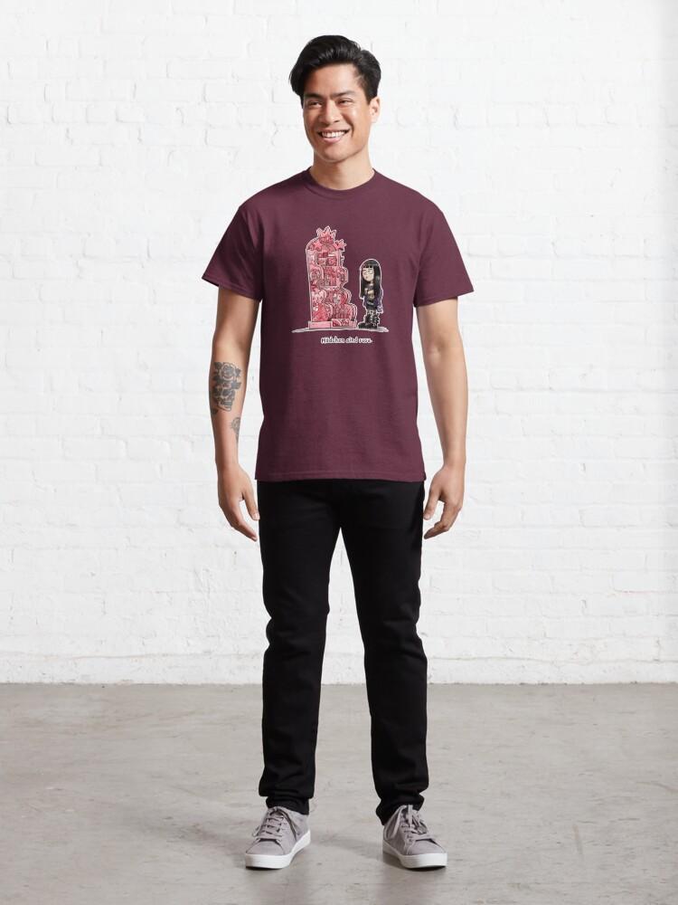 Alternative Ansicht von Mädchen sind rosa Classic T-Shirt