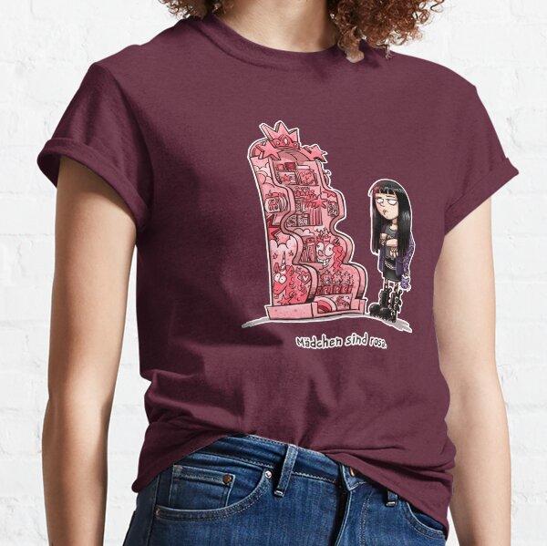 Mädchen sind rosa Classic T-Shirt