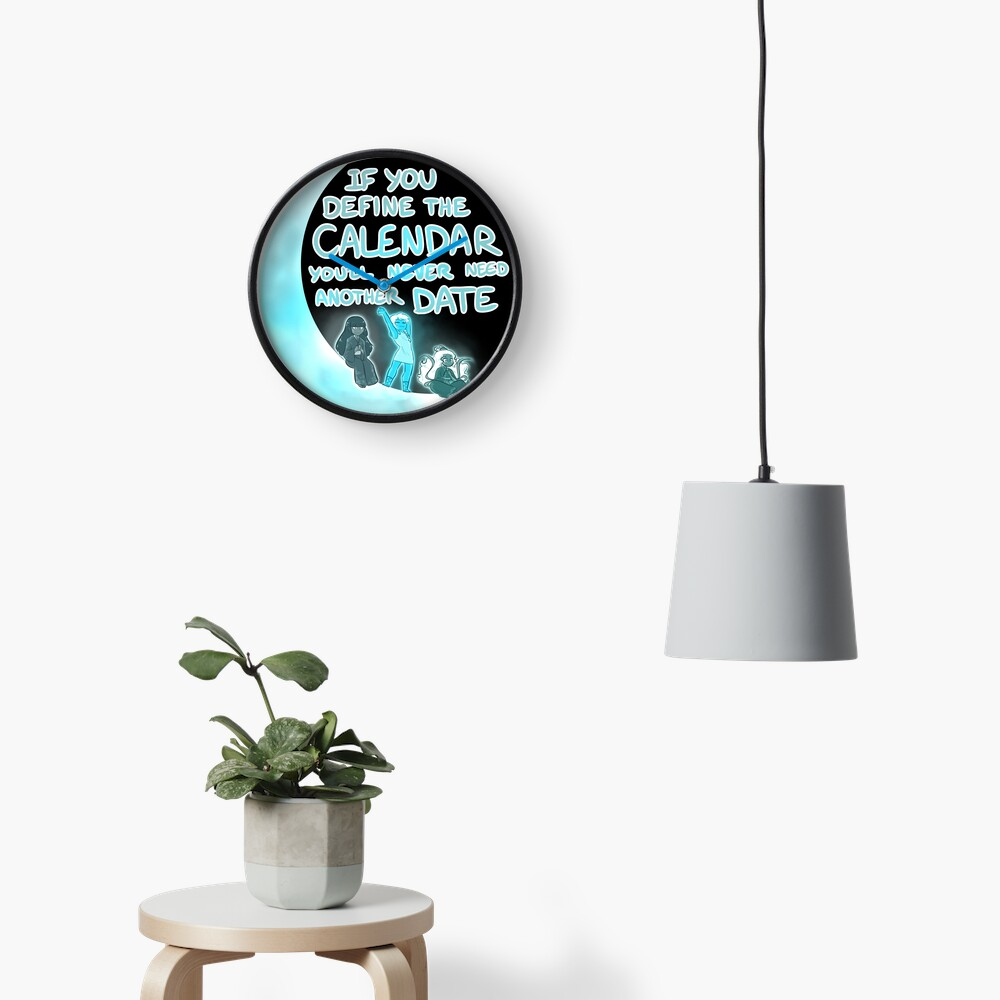 Lunar Goddesses Clock
