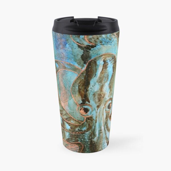 Gilded Creatures Travel Mug