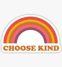 Choose Kind (Ashley Scott Designs) Sticker