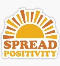 Spread Positivity (Ashley Scott Designs) Sticker