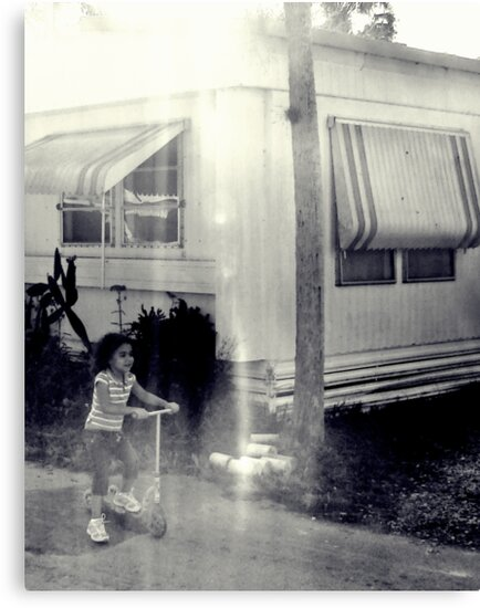 scooting right along : trailer Park america series  by Isa Rodriguez