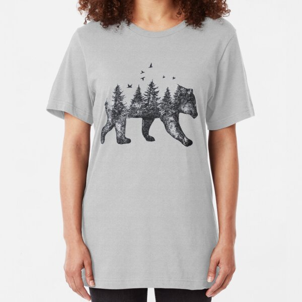 Bear Country Slim Fit T-Shirt