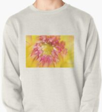 Pink and Yellow Dahlia, As Is Pullover