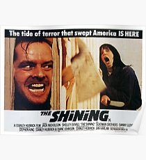 Here's Johnny, The Shining, Film Movie. Poster