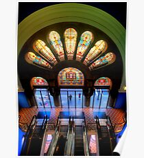 Master Glass - QVB, Sydney - The HDR Experience Poster